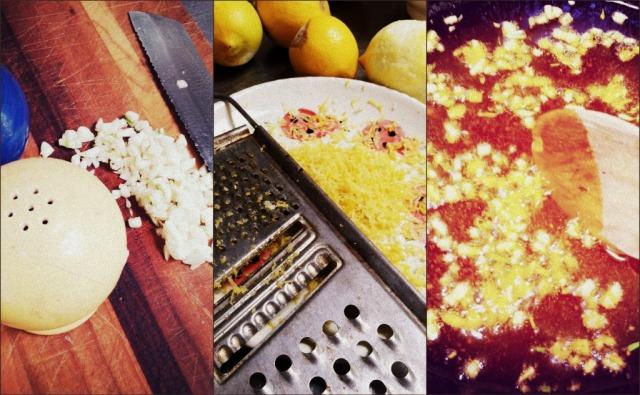 makin lemon pasta
